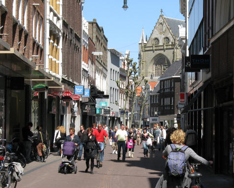 Shopping in Haarlem